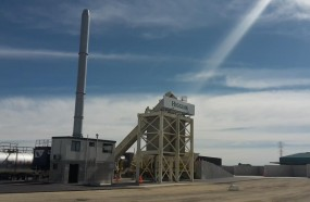 Higgins Christchurch asphalt plant