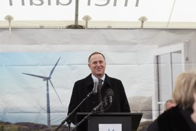 John Key announces First Power