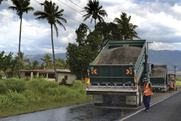 Fiji Western Division Road Maintenance Contract Higgins