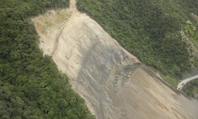 Manawatu Gorge Slip Project