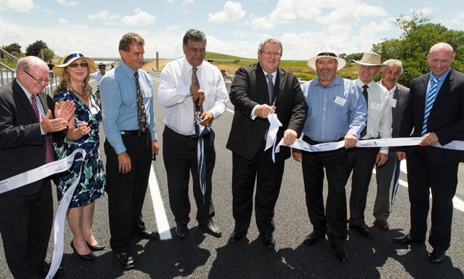Ngaruawahia section officially opened